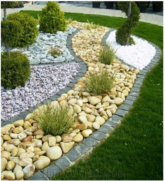 Pebbles Used For Landscaping Google Search Garden 400 x 300