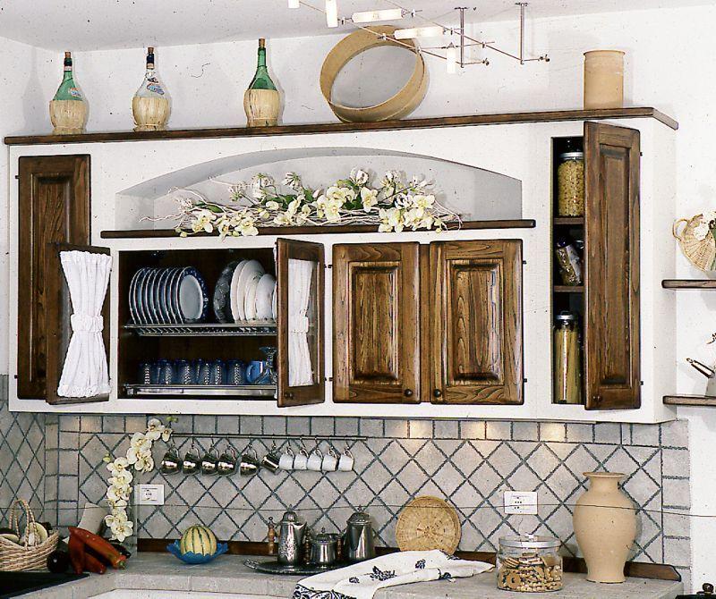 Beautiful Pensili Per Cucine In Muratura Contemporary - Ideas ...