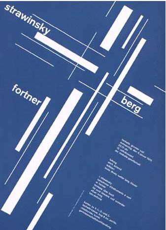 Swiss graphic design 50s