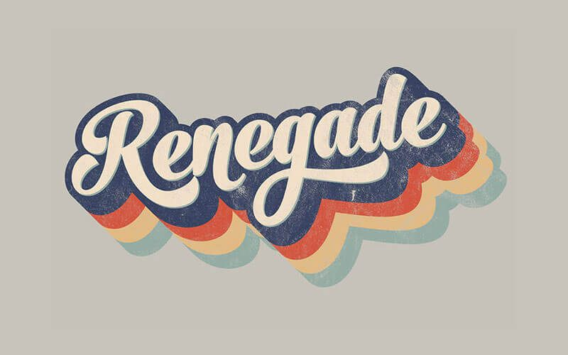How To Create A Retro 70s Style Striped Logo Type Effect Retro Graphic Design Retro Typography Retro Logo Design