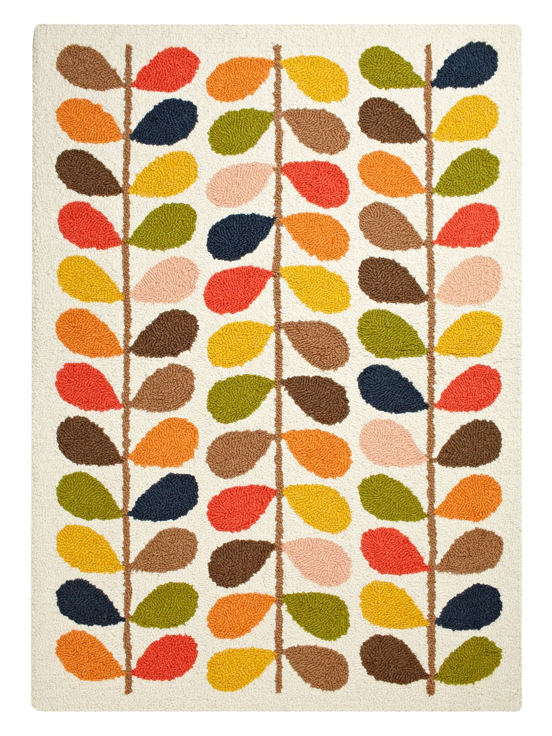 Stem Hand Knotted Rug By Orla Kiely House At Gilt