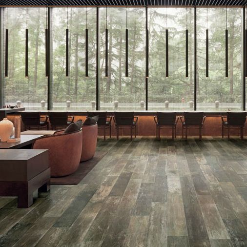 8 X 36 Fence Country Morgan Porcelain 4 98 Per Square Foot Commercial Flooring Wood Look Tile Porcelain