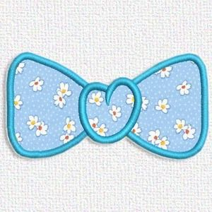Adorable Applique's free embroidery design today is a bow