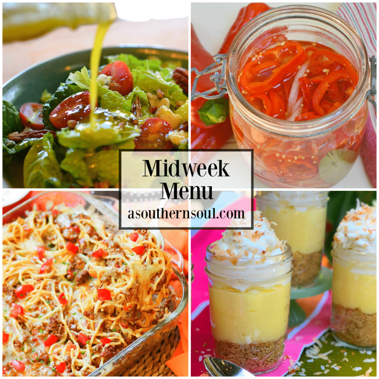 Midweek Menu #72 has four easy to make recipes for meal planning success! Don't let a busy week get you distracted. Getting a great homecooked meal on the table for your family is easier than you think with Midweek Menu. This week's menu is super delicious and fun! Yep, meal planning, cooking and sitting down …