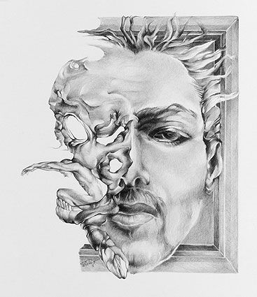 surrealism coloring pages | surrealism pencil drawings - Google Search | Drawings ...