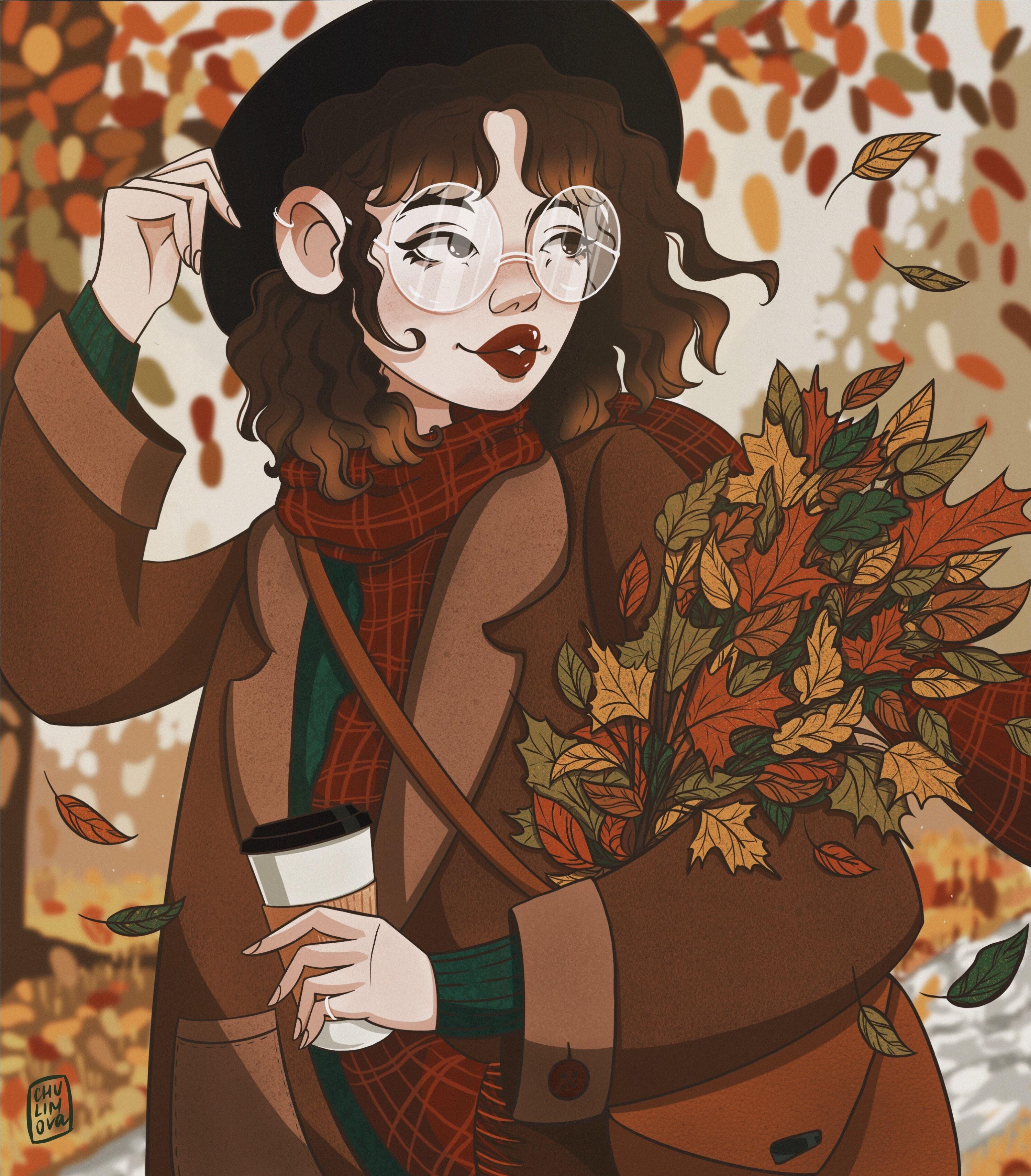 Осенняя иллюстрация