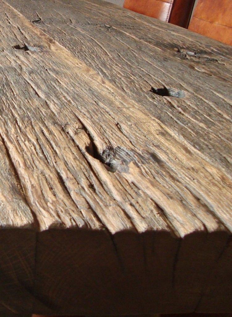 Robuuste Tafels Gemaakt Van Stoer Oud Hout Met Een Industriele Uitstraling Altholz Holz