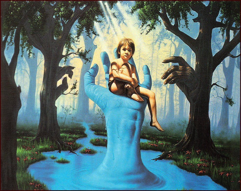 Jim Warren   Surreal art, Art, Painting