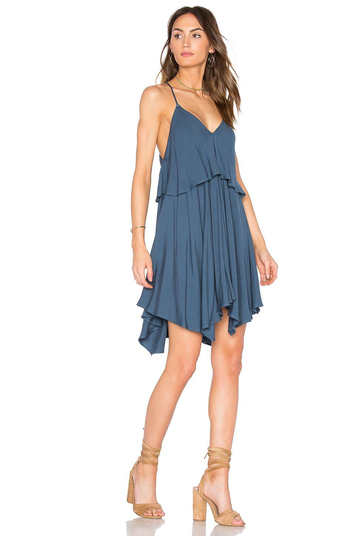 BB Dakota Auda Dress in Cornflower Blue