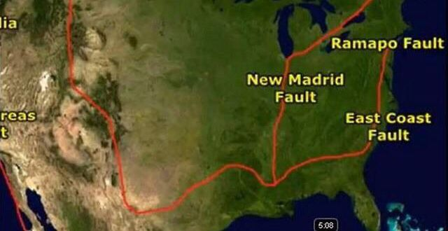 The Ramapo Fault Is The Longest Fault In The Northeast That - Us fault lines rocky mountains map