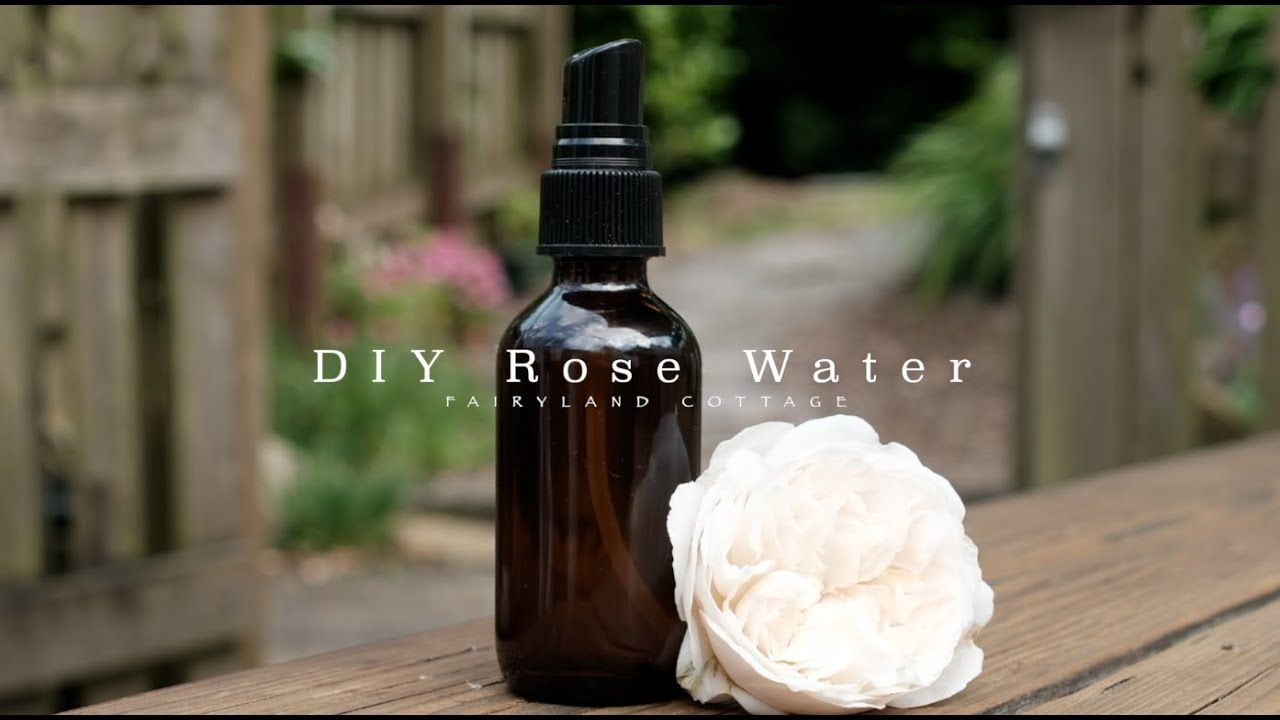 Homemade rose water toner simple and low waste youtube