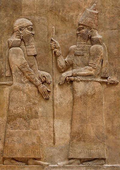 Sargon II, king of Assyria
