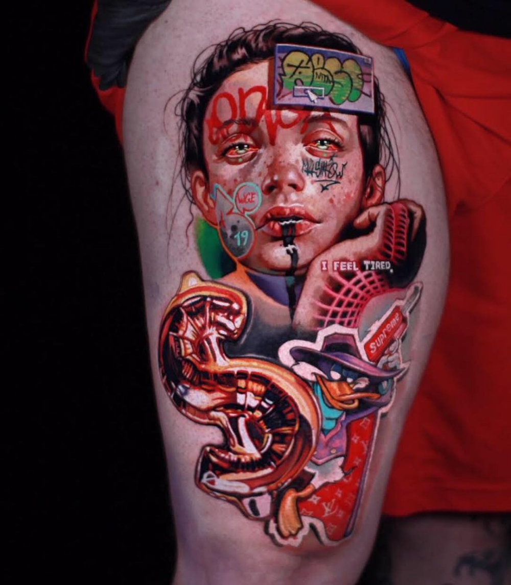 Pin by Jhonny Aguilar on Papel de parede rap in 2020 | Modern tattoos,  Tattoos, Realism tattoo