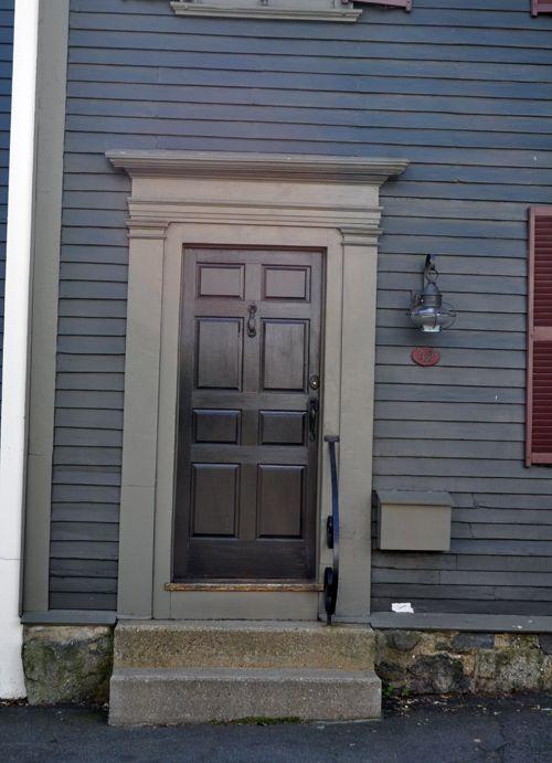 Amazing Federal Style. Styles Of HousesPanel DoorsFront ...