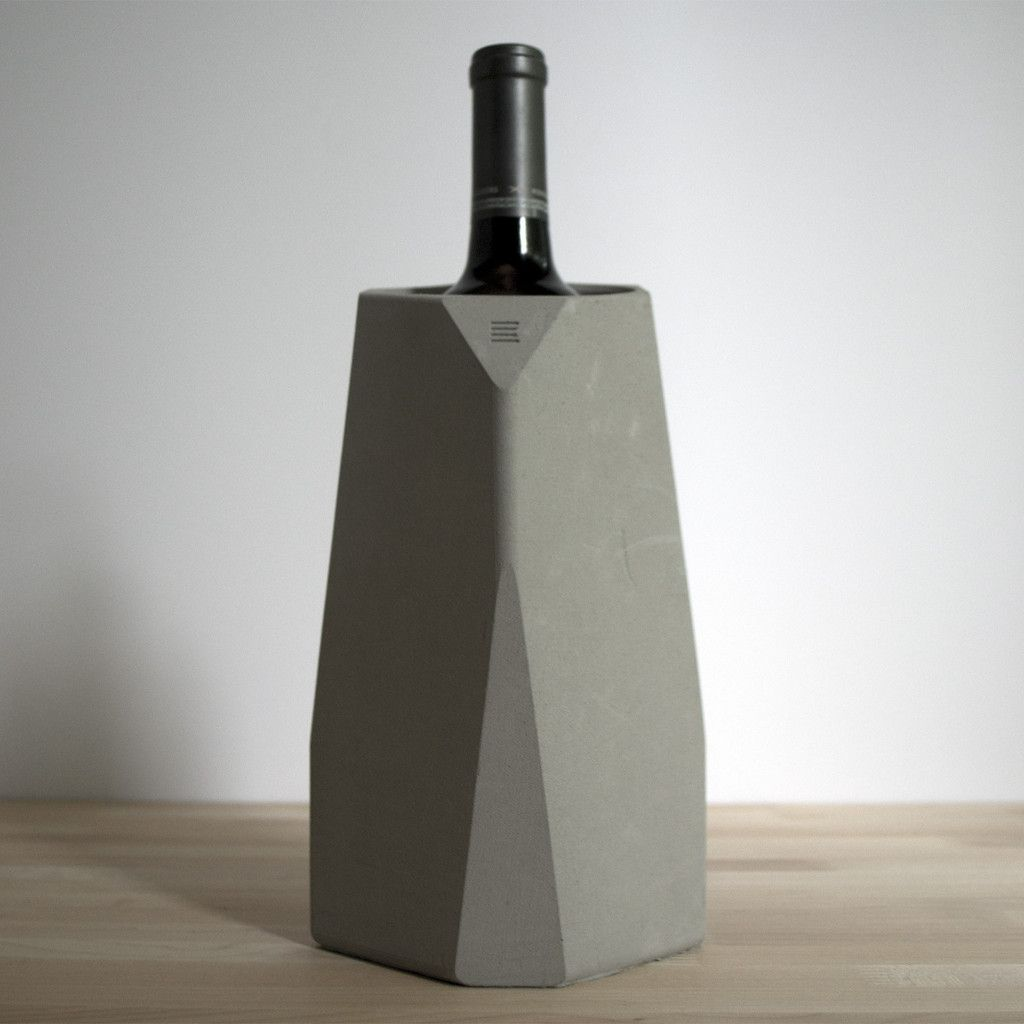 Fran Corvi's suitably names Corvi Wine Cooler takes cool to another level. Made from concrete, and moulded in a geometric form-mould, the result is one to match the most deserving of palettes. Each cooler can be stacked in an infinite array of designs to create a personalized wine cellar, and therefore pushes the boundaries of the expected formwork of the utilitarian object.