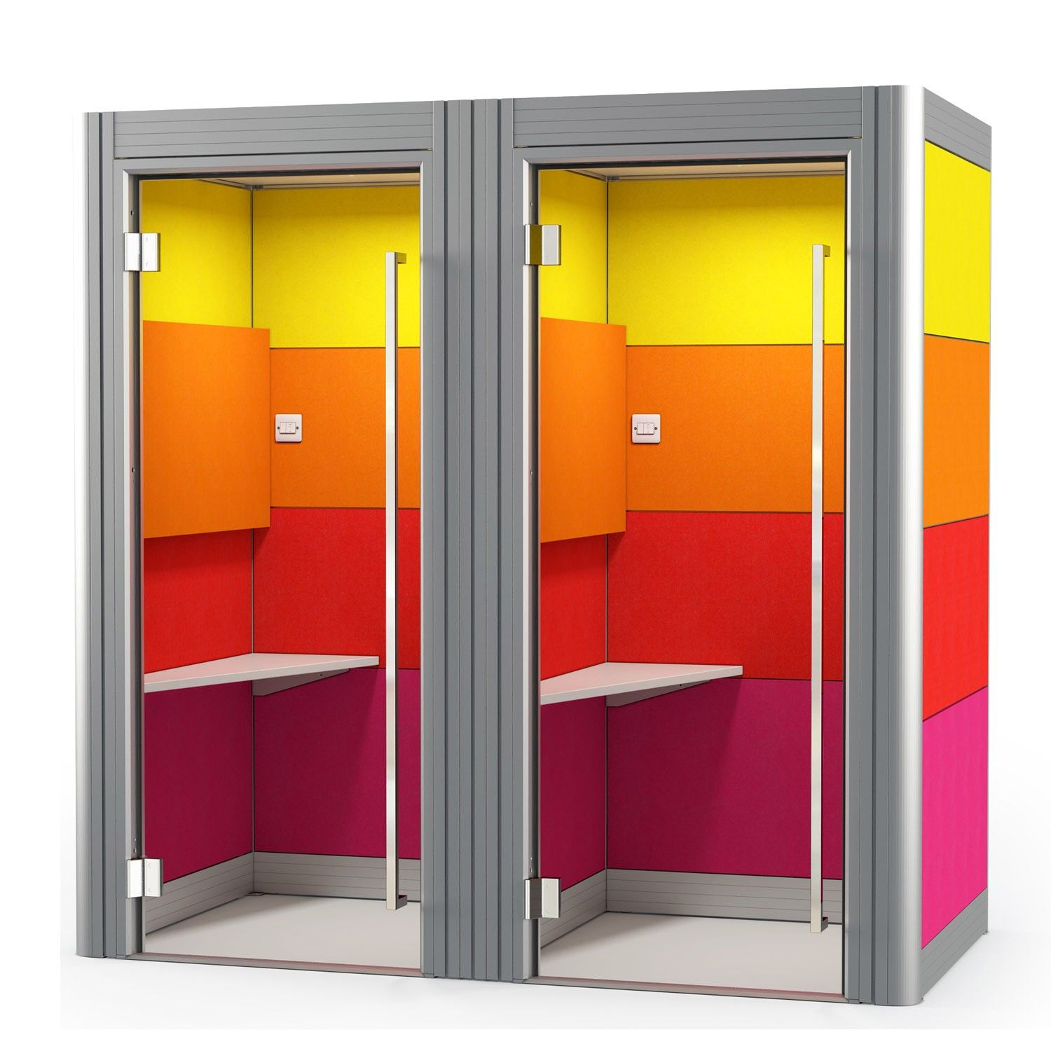 Spacio Phone Booths | Acoustic Office Phone Booths | Apres Furniture