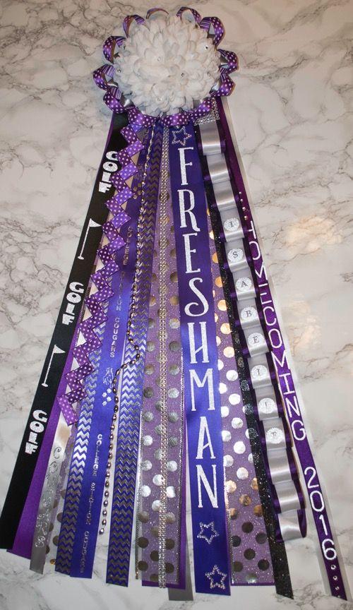 Customized Ribbons For Texas Homecoming Mums Homecoming Mums