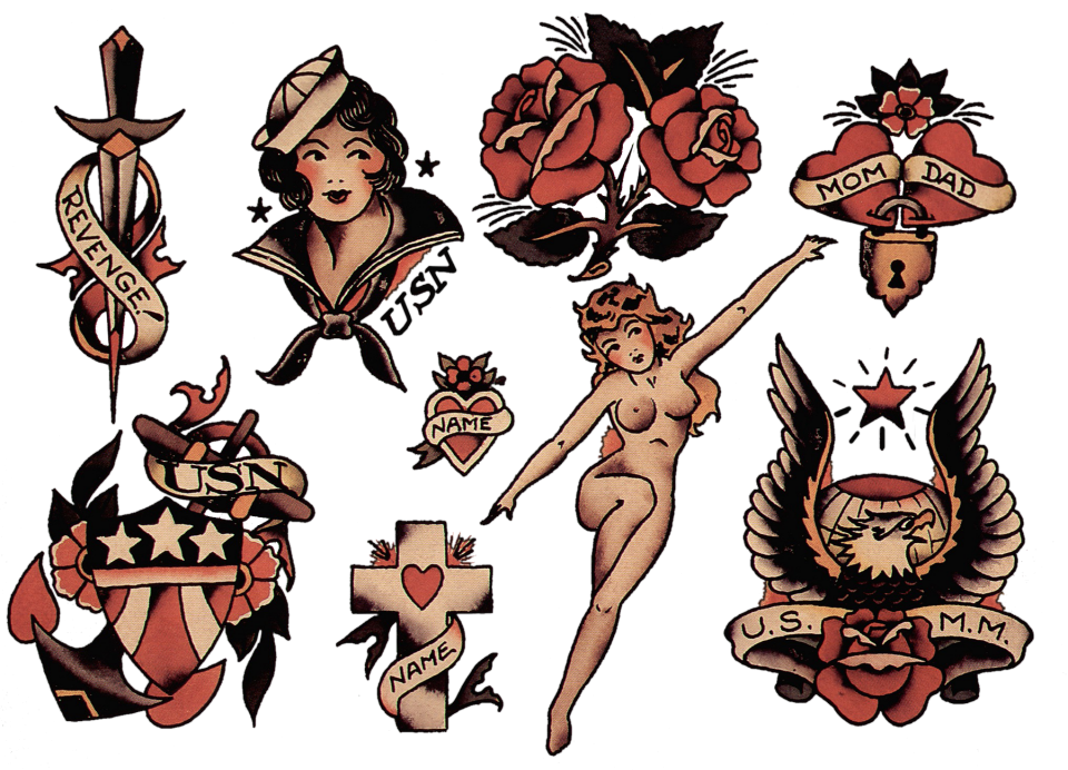 Sailor Jerry Spiced Rum Naked Girl Pen Bar Ware Collectible