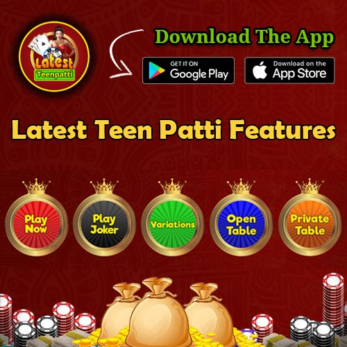 Play the real casino #teenpatti #game and win unlimited #chips and get high bonus points. Download the #app now: http://bit.ly/2ruqu36