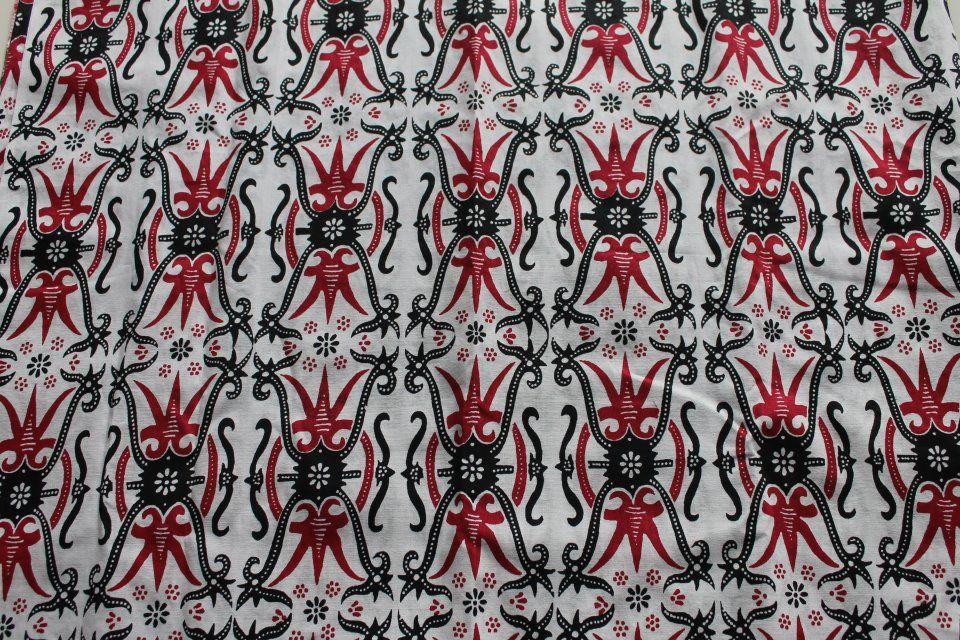 Batik Kalimantan Motif Dayak DYK 002  Batik Kalimantan  Pinterest