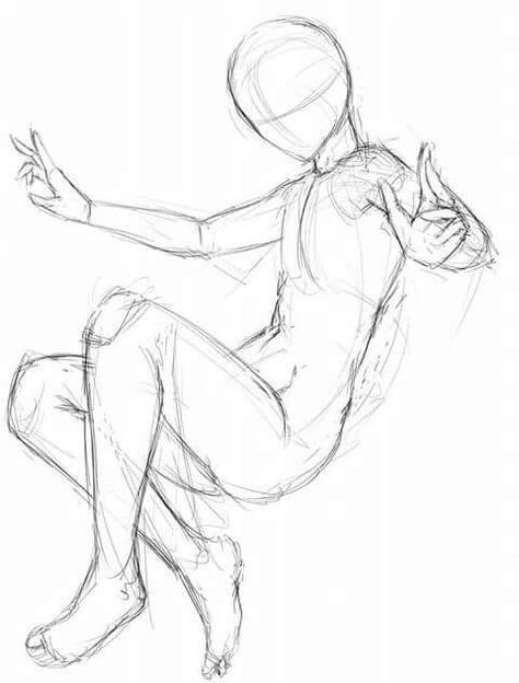 Reference Anime Flying Poses Google Search In 2020 Drawing Body Poses Anime Poses Reference Drawing Poses