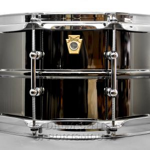 Ludwig Black Beauty Snare Drum w/ Tube Lugs & P86 6.5x14