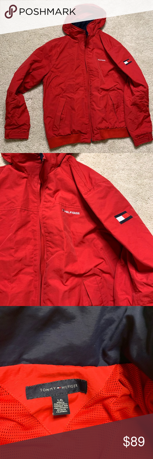 Men S Tommy Hilfiger Red Retro Yachting Jacket L Tommy Hilfiger Tommy Hilfiger Jackets Hilfiger [ 1740 x 580 Pixel ]