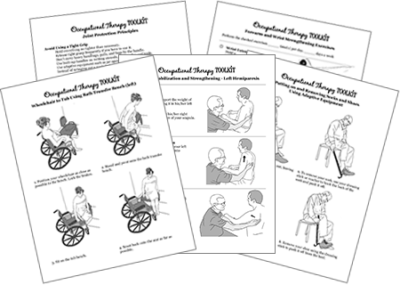 occupational therapy toolkit treatment guides and handouts