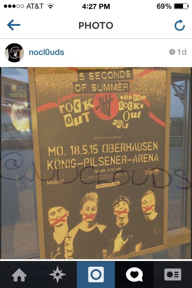 5sos tour poster