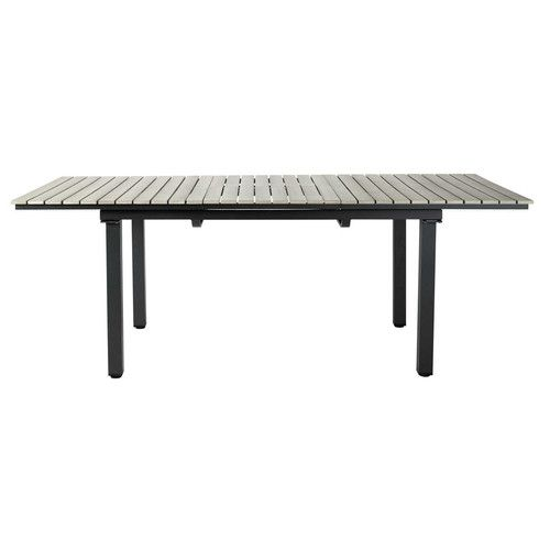 Table de jardin en aluminium gris L 213 cm | Pinterest | Table de ...
