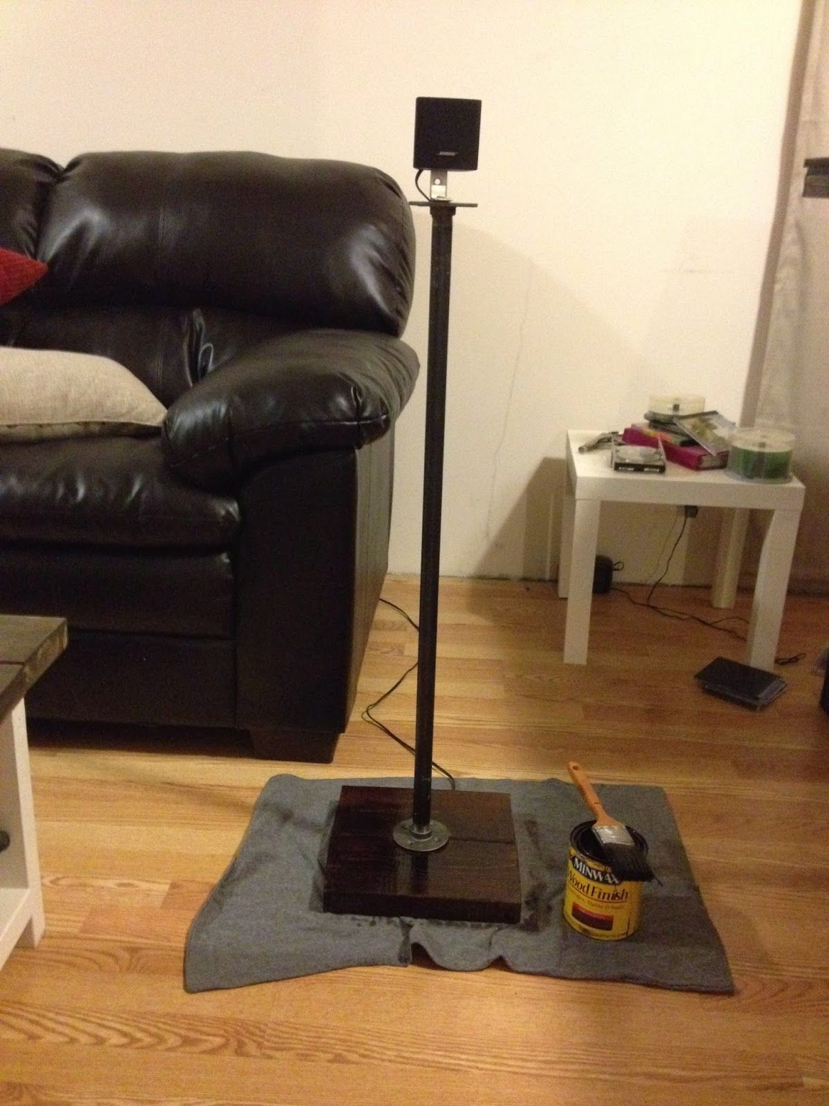 DIY Speaker Stands | Upcycling Creations - Turning Trash ...