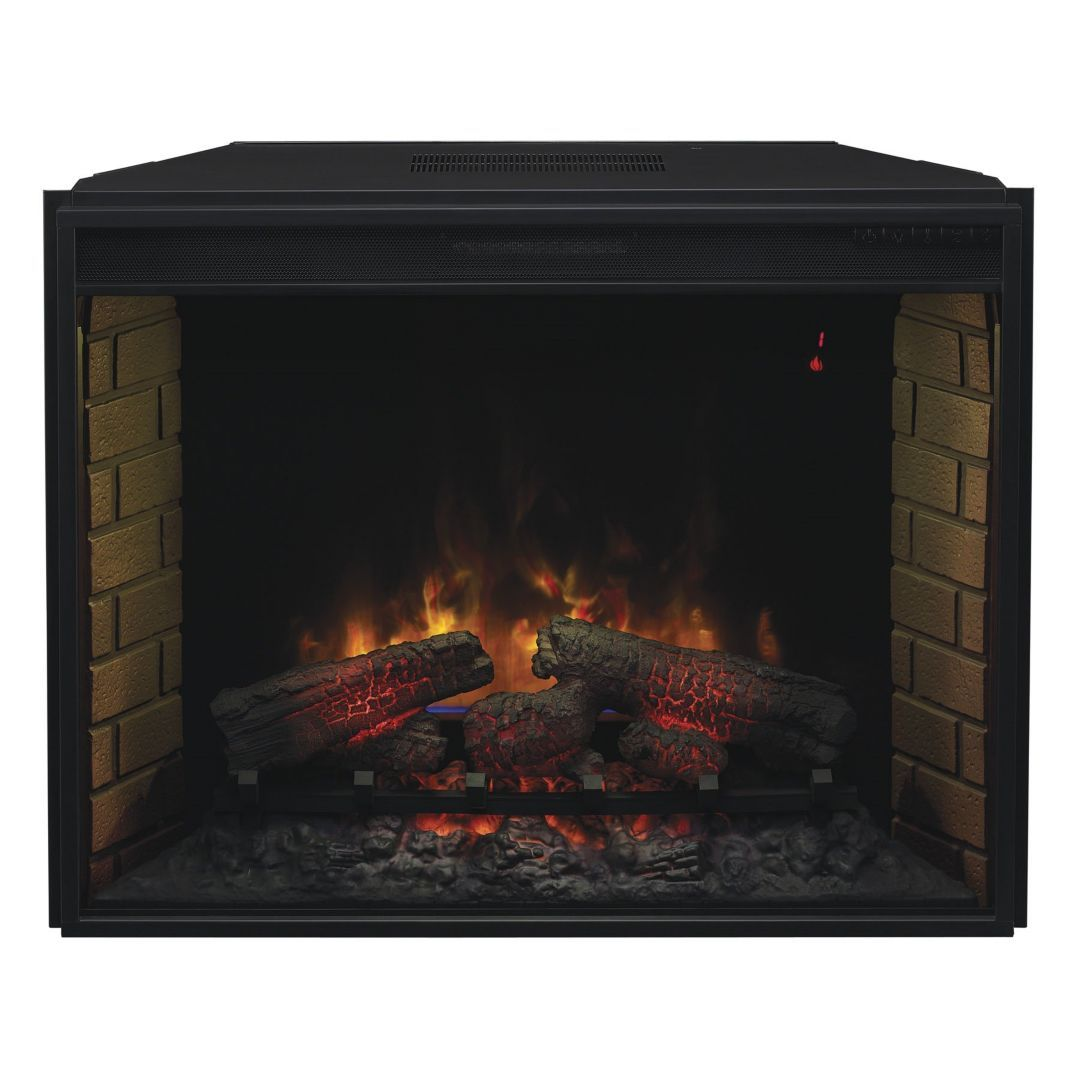 Classic Flame Chimney Free 33 Spector Fire Plus Insert Electric
