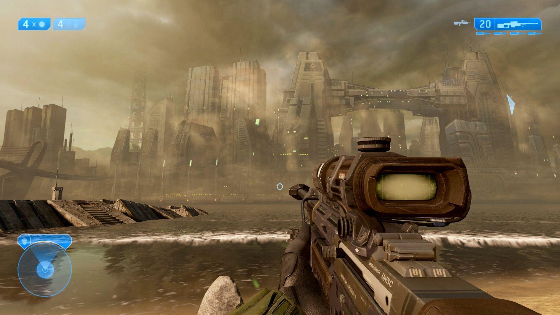 New Mombasa   Halo 2/Halo 2 Anniversary Screenshots   Halo 2, Halo