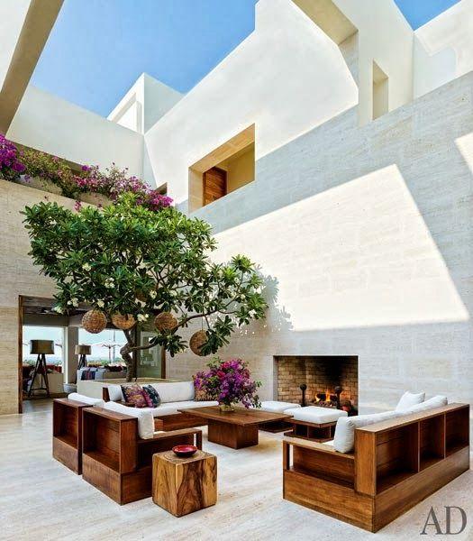 CHIC COASTAL LIVING: Cindy Crawford U0026 George Clooneyu0027s Mexican Beach Houses