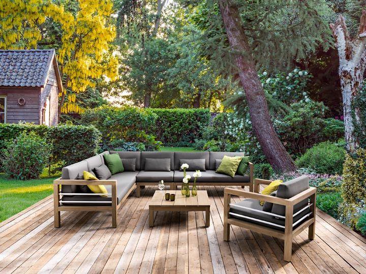 del mar teak garten loungegruppe von applebee garten gartenm bel gartensofa gartenlounge. Black Bedroom Furniture Sets. Home Design Ideas
