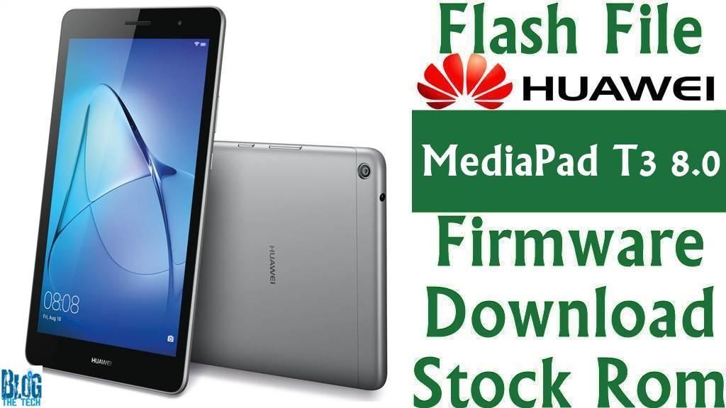 huawei mediapad t3 7 firmware flush