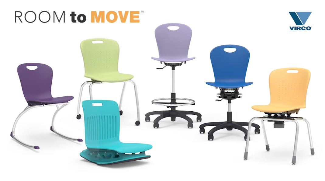 Virco Flexible Seating Solutions Room To Move Flexible Seating