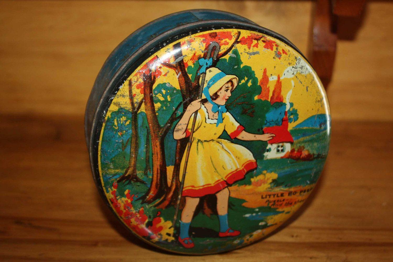 Vintage tin nursery rhyme latas y latones pinterest latas decoraci n reciclada y reciclado - Decoracion vintage reciclado ...