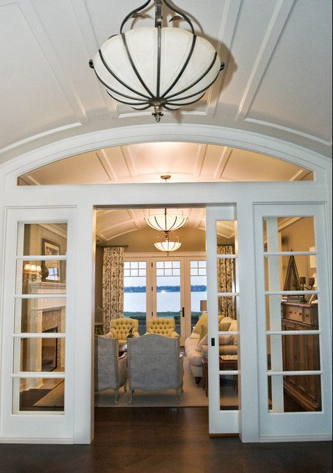 Pocket Doors That Wall Between Office And Family Room