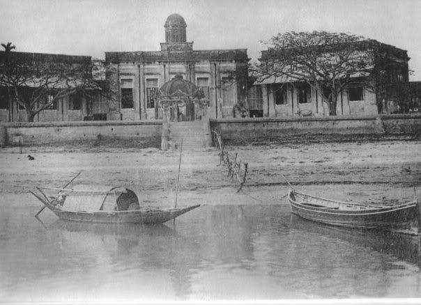 Mitford Hospital estd-1854, River view-1880s
