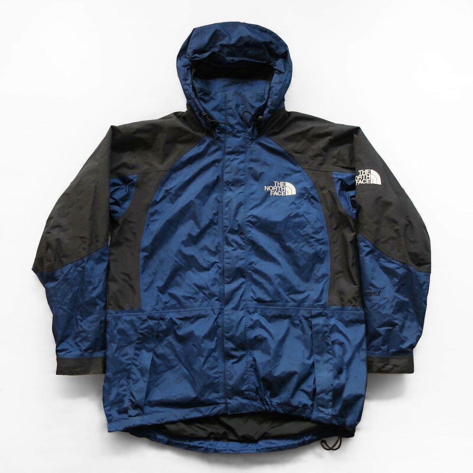 Vintage North Face Goretex Mountain Parka Jacket Size Xl Dark Etsy Parka Jacket Jackets The North Face [ 1600 x 1600 Pixel ]