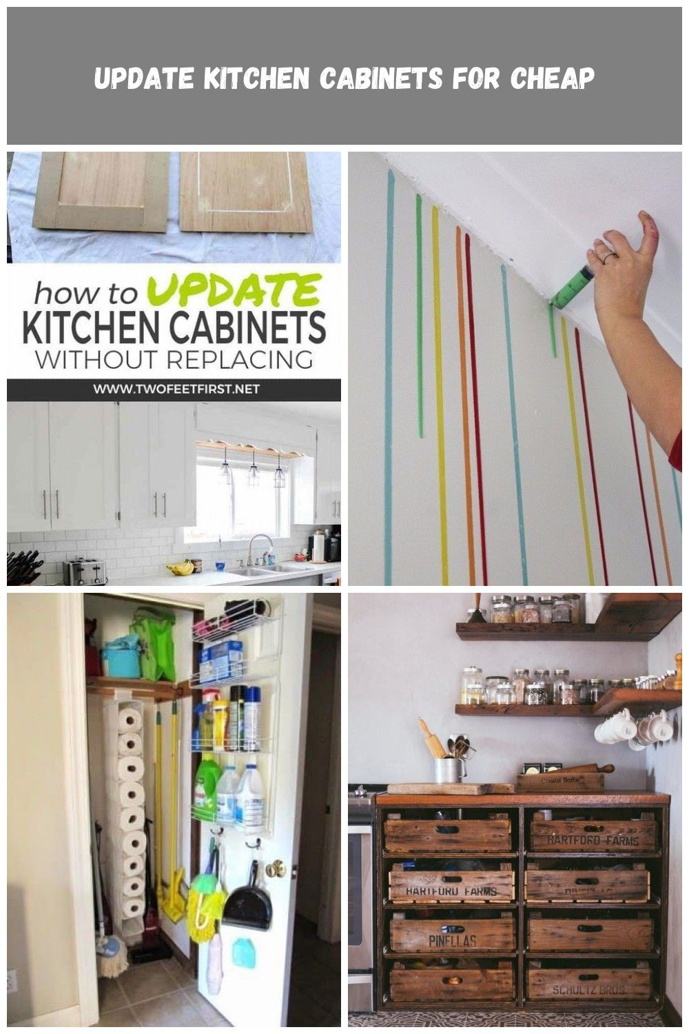 Want To Update Kitchen Cabinet Without Replacing Them Learn How To Update Kitchen Cabinets For Cheap By Ad Update Kitchen Cabinets Updated Kitchen Diy Kitchen
