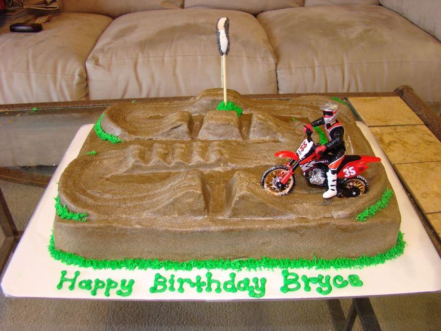 Best 25 Motocross cake ideas on Pinterest Dirt bike cakes