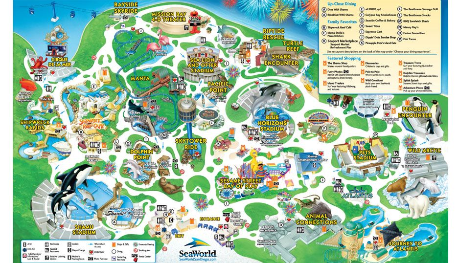 seaworld san diego map 2015 Sea World San Diego Sign Up For Free Tickets For Military