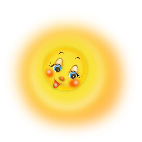 Анимация солнышко улыбается для презентации, поздравление мужчине