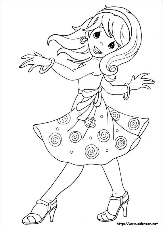 precious moments bailando para colorear - Buscar con Google | niños ...