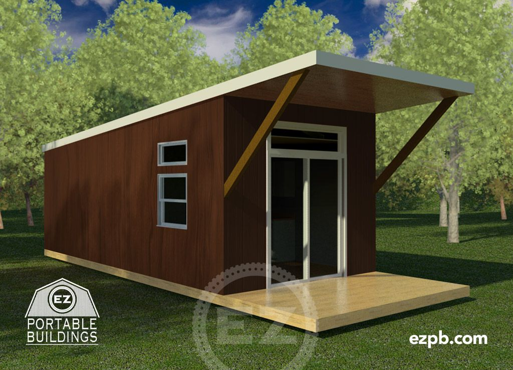 The Bayview Portable buildings, Tiny house, Built in storage