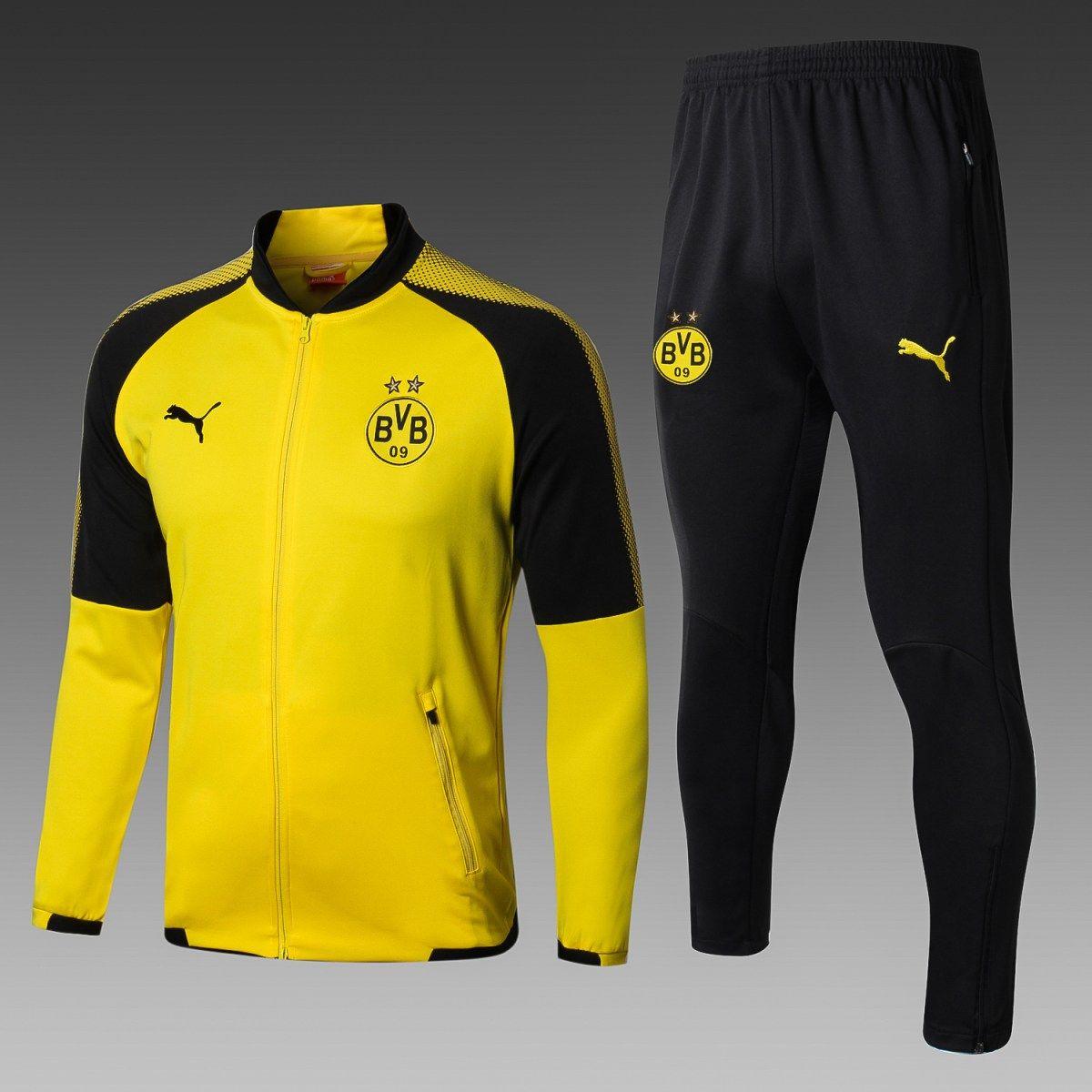 eb52750680 Conheça o novo agasalho de treino do Borussia Dortmund inovador ...