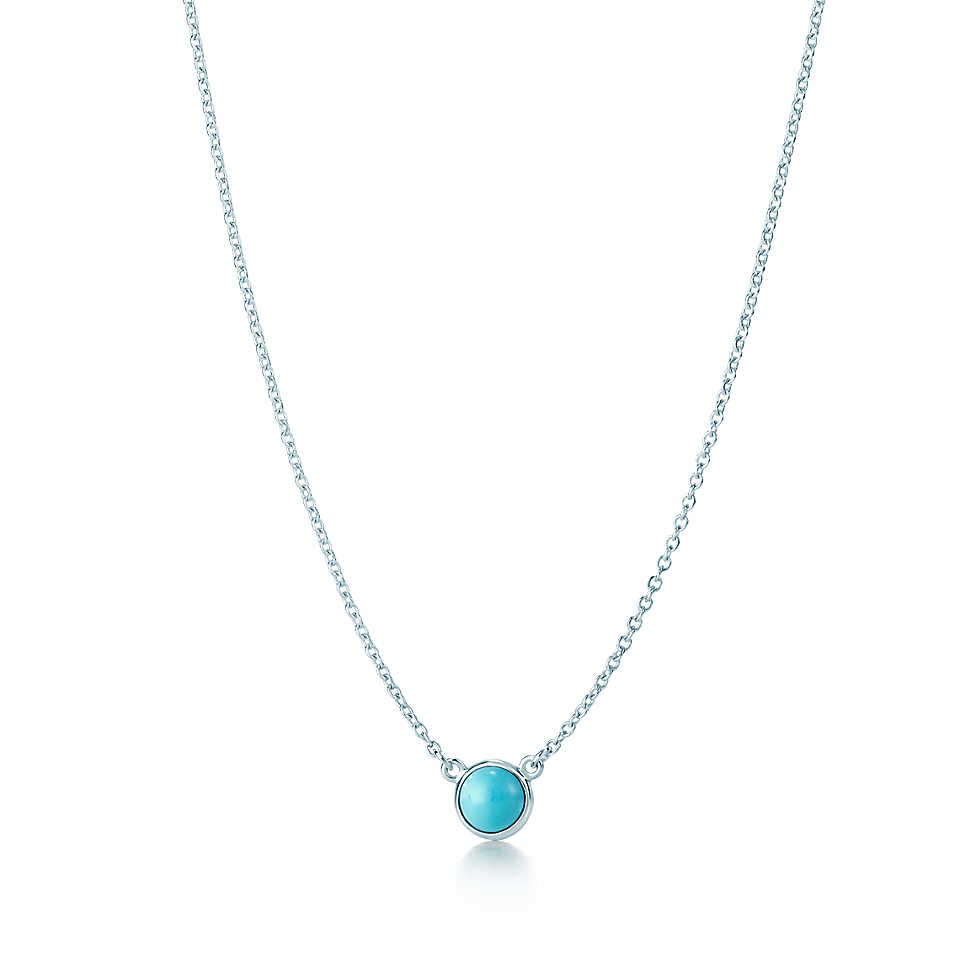 0937d5f13596 Tiffany   Co. Elsa Peretti Color by the Yard pendant in sterling silver  with turquoise