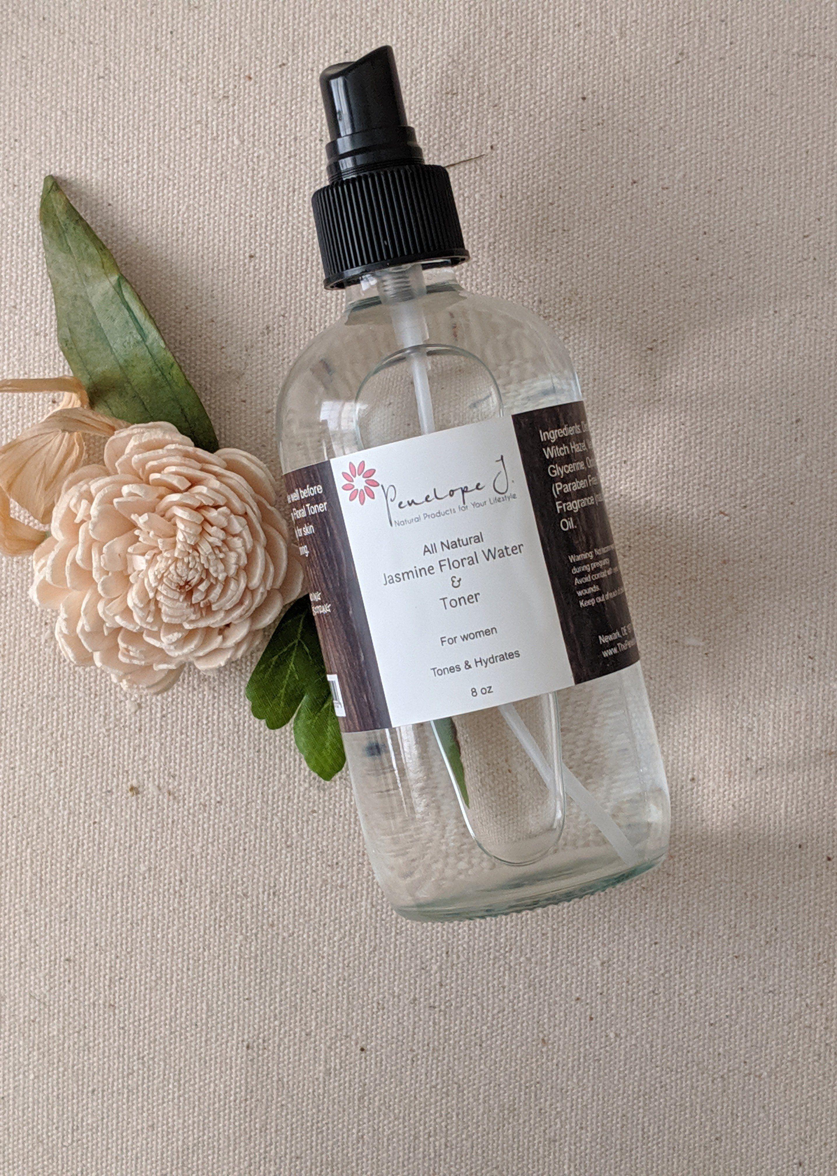 Jasmin Blumenwasser & Toner – Blumenwasser & Toner